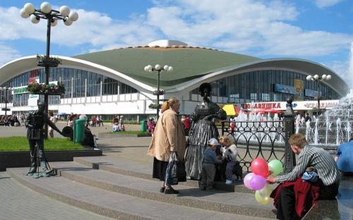 Комаровский рынок в Минске